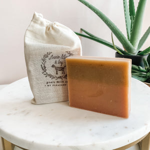 Cashmere Plum Goats Milk Soap