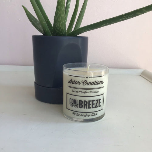 Cool Tropical Breeze Candle - The Catalyst Mercantile