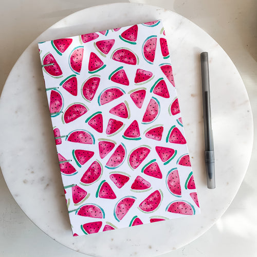Watermelon Hand Bound Journal
