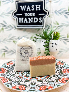 Raw Honey Comb Goats Milk Soap - Limited Edition