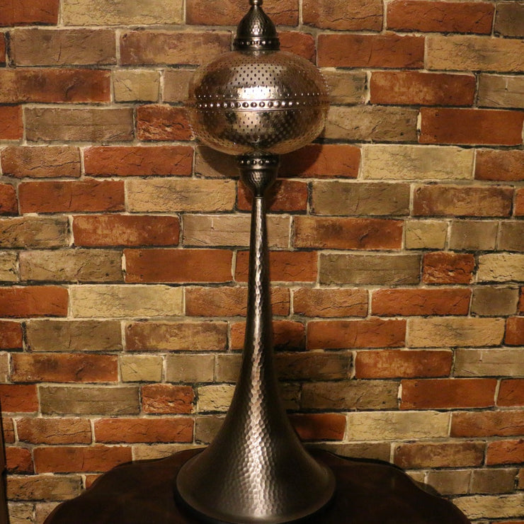 Pierced Metal Table or Floor Lamp