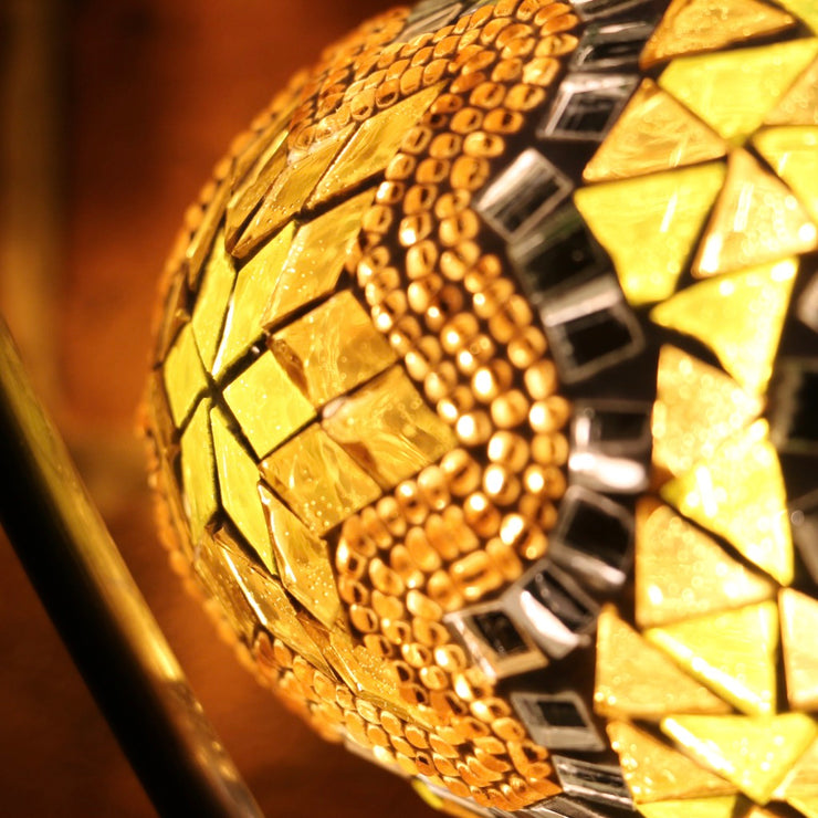 Mosaic Table Lamp in Yellow, 5 Styles Available