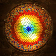 Mosaic Flush Mount for Ceiling or Wall Lamp in Multicolors