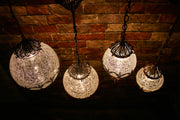 Hanging Glass Round-Shaped, Large