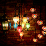 "Hanging Light Fixture ""Street Lamp"" with Five Colors"