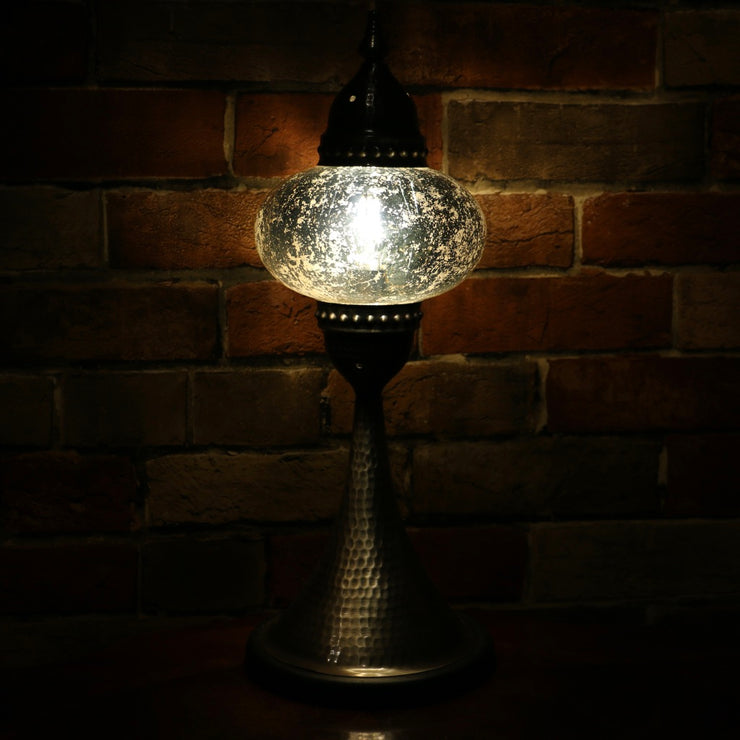 Mercury Glass Table Lamp, 5 Styles Available