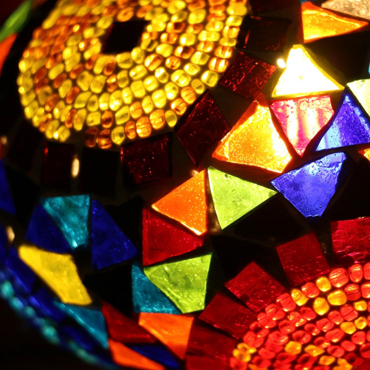 Mosaic Table Lamp in Many Colors, 5 Styles Available