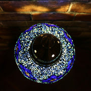 Mosaic Table Lamp in Blues, 5 Styles Available