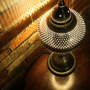 Pierced Metal Table Lamp, 5 Styles Available