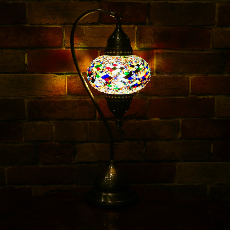 Mosaic Table Lamp MultiColor, 5 Styles Available