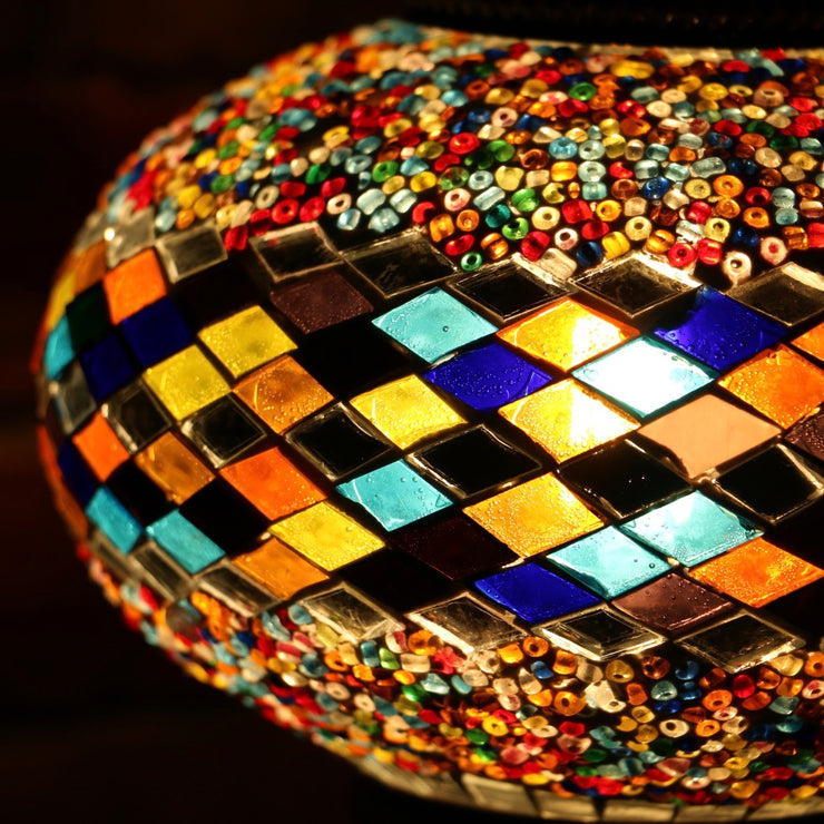 Mosaic Table Lamp in Many Colors