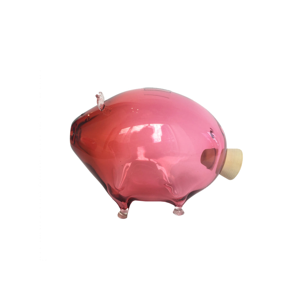 Ruby Piggy Bank