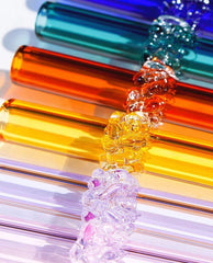 Colorful Glass Drinking Straw