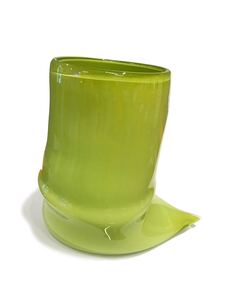 Deflated Cup in Grass Green