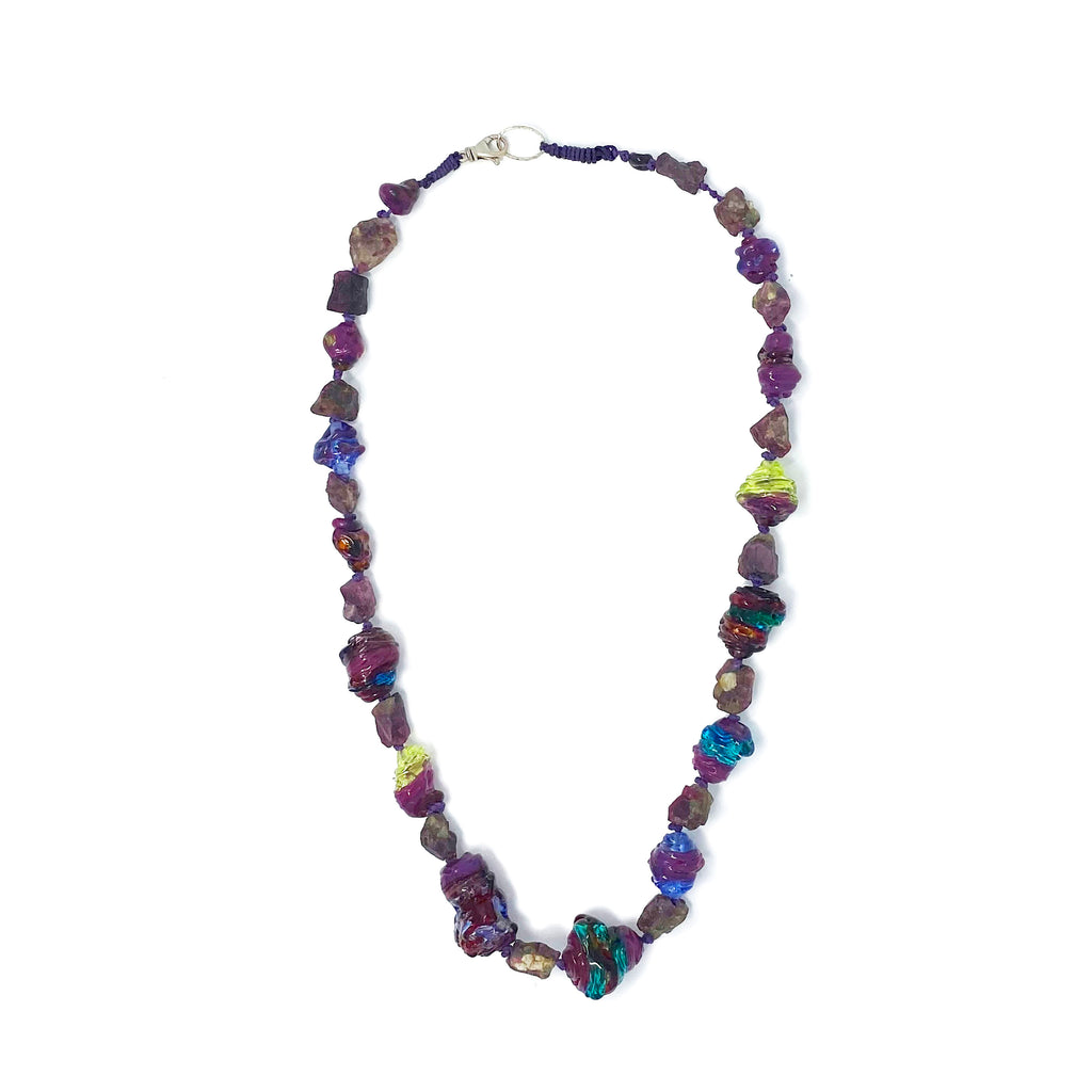 Ruby Rainbow Necklace