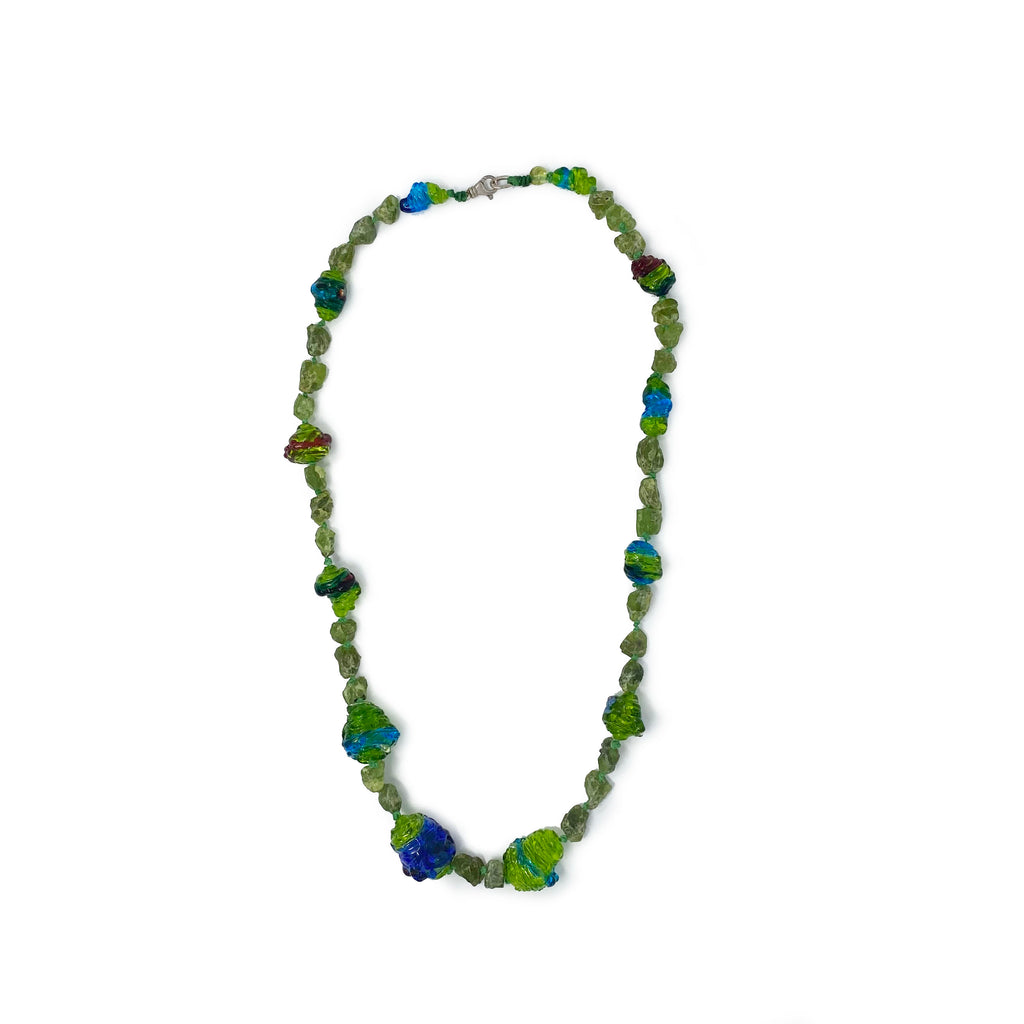 Peridot Lime Necklace