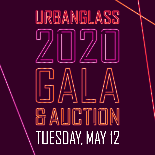 Tickets for the 2020 UrbanGlass Gala & Auction