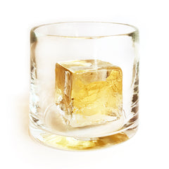 The Gold Cube Glass