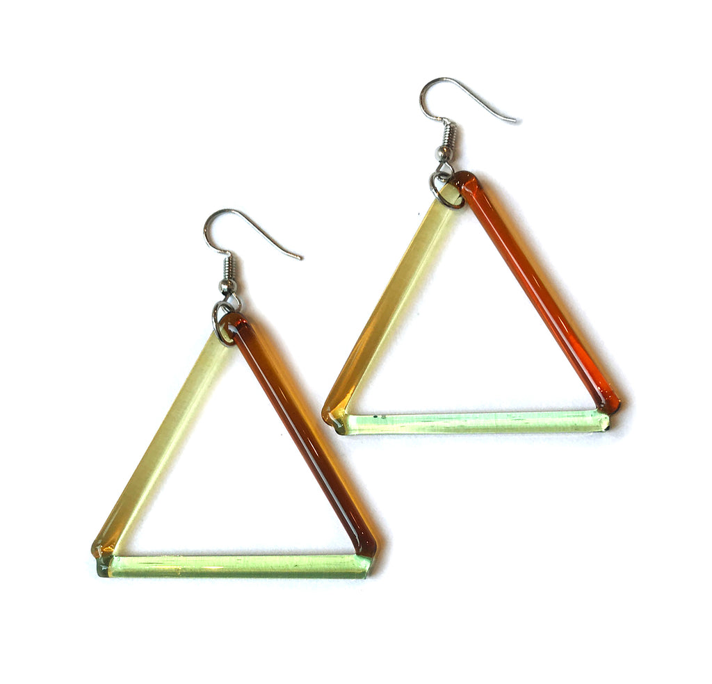 Medium Triangle Earrings