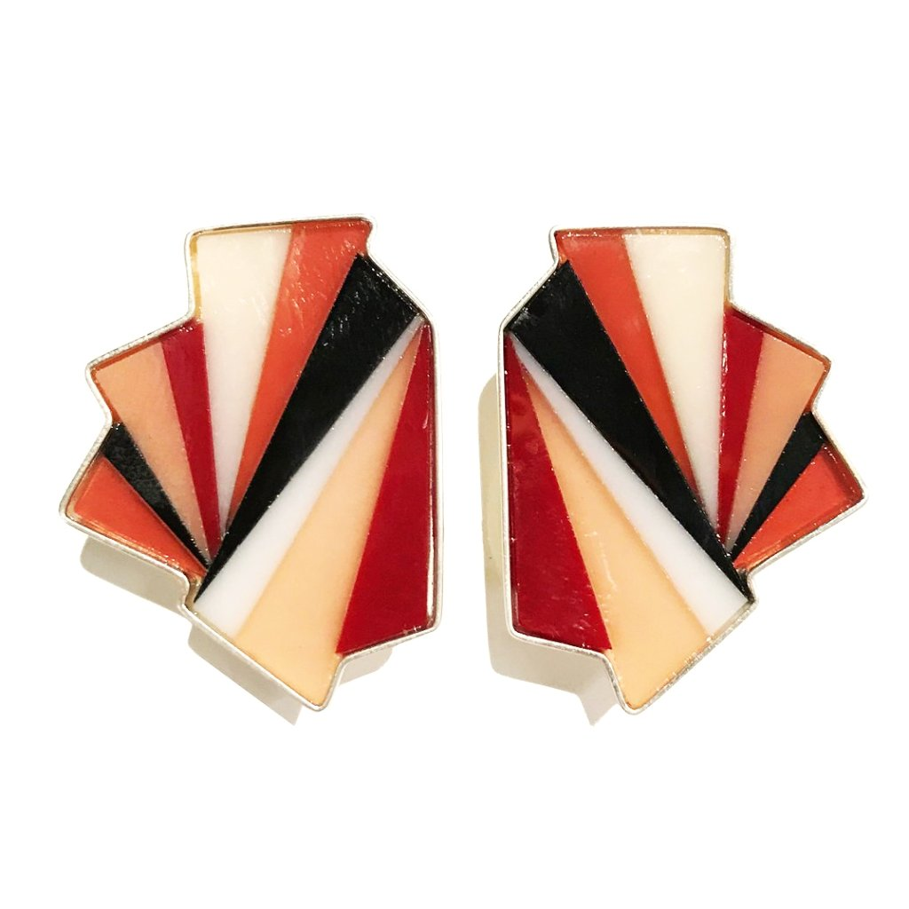 Origami Clip-On Earrings