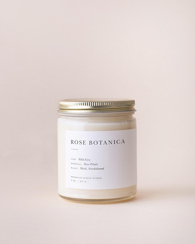 Rose Botanica Soy Wax Candle