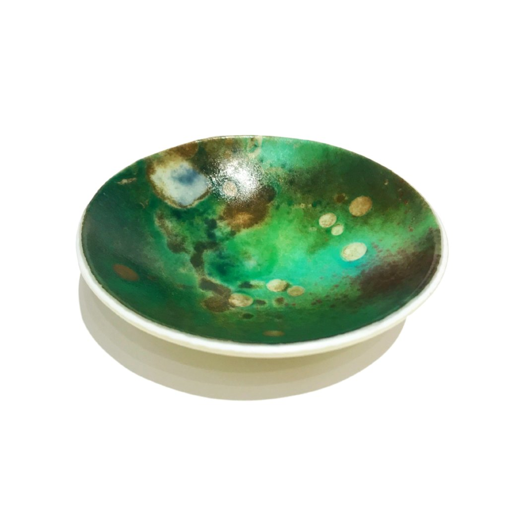 Small Green Galaxy Bowl