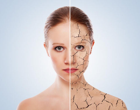 dry skin patches on face
