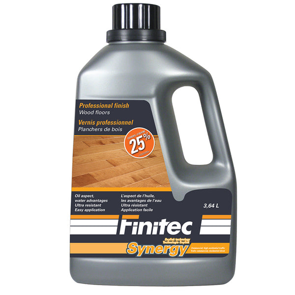 VERNIS SYNERGY SATIN 3.64 L - FINITEC