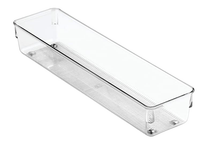 "Collection Linus - Organisateur en plastique transparent 3"" x 12"" x 2"""