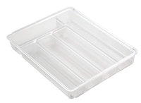 Collection Linus - Organisateur extensible en plastique transparent
