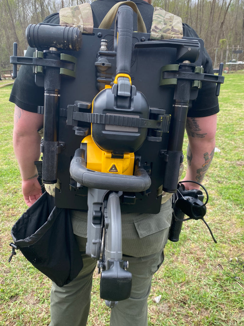 Bushido Tactical Mule Breacher's Backpack w/Multi-Tool Mounts (Quickie Saw / CS /CBT)