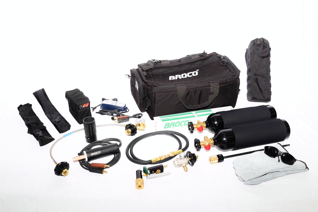 Broco® Mini-Tac Portable Breaching Torch Kits PC/MTMODAL & PC/MTMOD1