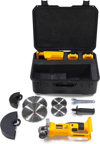 The Broco® Mini Breaching Saw Kit