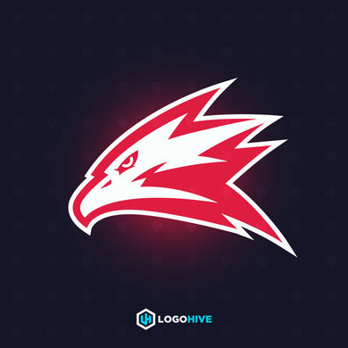 Red Eagle-Mascot Logos-LogoHive