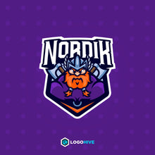 Load image into Gallery viewer, Nordik-Mascot Logos-LogoHive