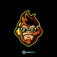 Load image into Gallery viewer, Ape-Mascot Logos-LogoHive