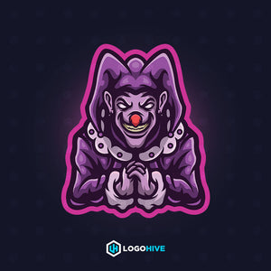 Mad Clown-Mascot Logos-LogoHive