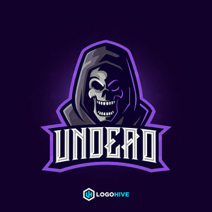 Undead-Mascot Logos-LogoHive