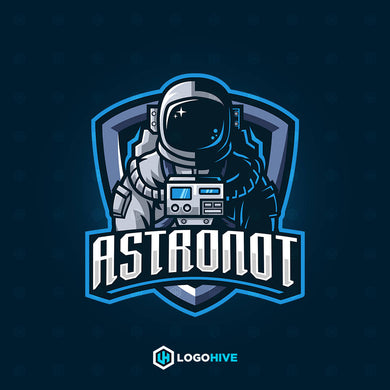 Astronot-Mascot Logos-LogoHive