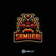 Load image into Gallery viewer, SAMURAI-Mascot Logos-LogoHive