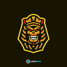 Load image into Gallery viewer, Pharaoh-Mascot Logos-LogoHive