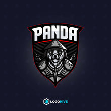 Load image into Gallery viewer, Ninja Panda-Mascot Logos-LogoHive