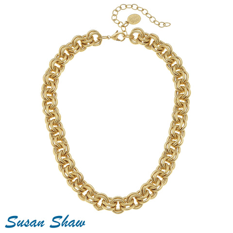 Susan Shaw Chain Necklace.