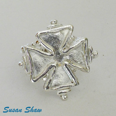 Susan Shaw Maltese Cross Ring.