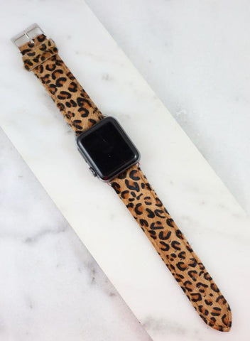 Watchband Small Print - Leopard