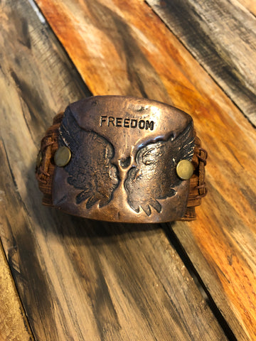 Jewelry Junkie Freedom Cuff