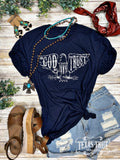 Texas True Threads T-Shirt - In God We Trust
