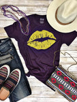 Texas True Threads T-shirt - Louisiana Lips