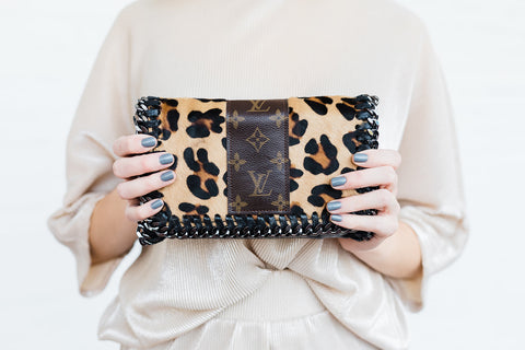 The Kelly Upcycled- Leopard
