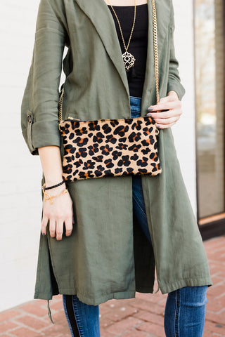 Hyde Leopard Crossbody